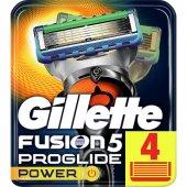 Fusion Proglide Power Yedek Tıraş Bıçağı 4 Lü...
