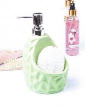 Renkli Süngerli Sıvı Sabunluk