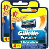 Gillette Fusion Proglide Yedek Tıraş Bıçağı 2*4lü...