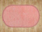 Pudra Düz Renk Modern Oval Halı Hs97011po
