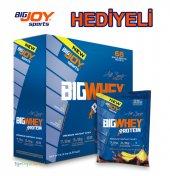 Bigjoy Whey Protein Tozu 2325 Gr 68 Şase Çikolata Ve Muz Aromalı Hediyeli