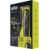 Braun Bt 3021 Saç&sakal Şekillendirici Siyah&yeşil Kablosuz Islak&kuru