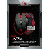 Bloody V7m Siyah Metal Ayak Hd Optik 3200cpı Mouse...