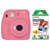 Fujifilm Instax Mini 9 Pembe Fotoğraf Makinesi & 20li Film