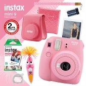Fujifilm Instax Mini 9 Açık Pembe Fotoğraf Makinesi Ve Hediye Seti 2