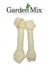 Gardenmıx Beyaz Düğümlü Derı Kemık 7 7,5 2lı