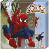 Roll Up Spiderman Peçete 20 Li