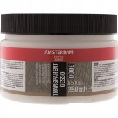 Amsterdam Aac Gesso Transparent 250 Ml