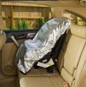 Bebek Oto Koltuk Kılıfı Bebe Çocuk İçin Araba Araç Puset Koruyucu Kılıfı Örtüsü Güneş Koruyucusu