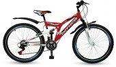 Kırmızı Amortisörlü Bisiklet
