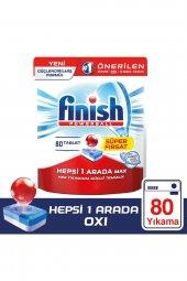 Finish Hepsi Bir Arada 80 Tablet Bulaşık Makinesi Deterjanı