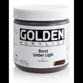 Golden Heavy Body Acrylıc 473 Ml Seri 1 Burnt Umber Lıght