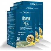 Ocean Plus 1200 Mg 50 Kapsul 3lü Avantaj Paketi