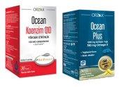 Ocean Koenzim Q10 30 Ka Ve Ocean Plus1.200 Mg 2li Paket