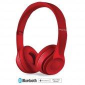 Piranha 2201 Bt Kablosuz Bluetooth Kulaklık Kırmız...