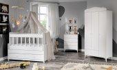 Sansa Bebek Odası Takımı Beyaz