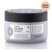 Maria Nila Sheer Silver Gümüş Maske 250 Ml