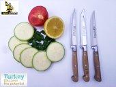 Mutfak Sebze Meyve Bıçak Seti 3' Ad Lazoğlu Sürmene Bilezikli Orj