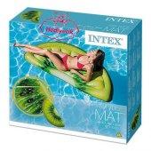 Intex 58765 Şişme Kivi Dilimi Deniz Yatağı Ada 178x85 Cm Kargo Ücretsiz