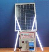 Solar Güneş Enerji Mini Paket 4 Lamba Aydınlatma Seti