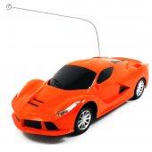 Uzaktan Kumandalı Araba 1.24 Ferrari Turuncu Renk Hız Tutkunu Oyuncak Araba
