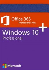 Windows 10 Pro & Microsoft Office 365 5 Kullanım 1...