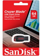 Sandisk Cruzer Blade Flash Bellek 64 Gb