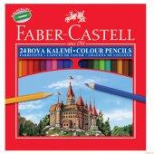 Faber Castell Kuru Boya Kalemi 24 Renk 116324