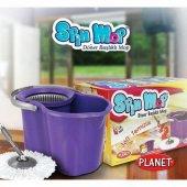 Spin Mop Döner Başlıklı Temizlik Seti 19lt.