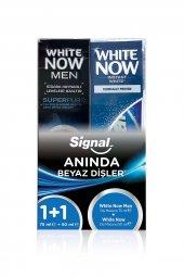 Signal White Now 2li Paket 50ml + 75ml Erkek Diş M...