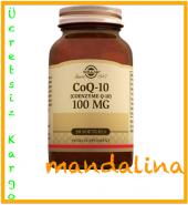 Solgar Coq 10 (Coenzyme Q10) 100mg 30 Softgels Skt 01 2022