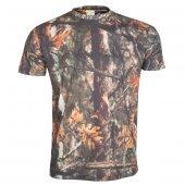 4021 Ay Yaka Doğa Desen Tshirt M