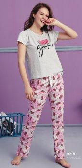 Karpuz Desen Detaylı Pijama Takımı Bb 1015