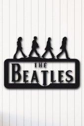Angemiel Home Beatles Metal Duvar Tablo Ev Ve Ofis...