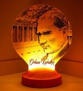 3d Led Lamba 3 Boyutlu Atatürk Anıtkabir Kişiye Öz...