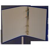 Bafix Talebe Klasörü 4 Halkalı A5 Mavi