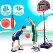 Ayaklı Basketbol Seti 206 Cm Ayarlanabilir Boy Basketball