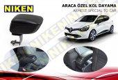 Niken Araca Özel Renault Clio 4 Hb Vidasız Kol Dayama Kolçak Siyah 2013 Üzeri