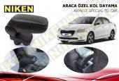 Niken Araca Özel Peugeot 301 Vidasız Kol Dayama Kolçak Siyah 2012 2019
