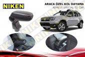Niken Araca Özel Dacia Duster Vidasız Kol Dayama Kolçak Siyah 2010 2017