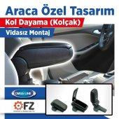 Omsa Opel Corsa D Araca Özel Kol Dayama Kolçak Siyah 2007 2014