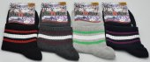 Dündar Spor Renkli Çizgili Bayan Kolej Patik Çorap 6 Adet