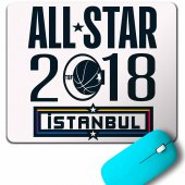 Basketbol All Star İstanbul Nba Basketball 2018 Mouse Pad