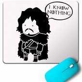 ı Know Nothıng Jon Snow Game Of Thrones Mouse Pad
