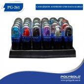 Polygold Pg 2612 İphone Şeffaf Usb Kablo