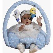 Bebek Devrilmez Yatmaz Yastık Minder Bebek Oyun Oturtma Minderi