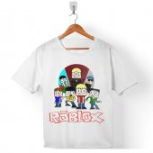 Roblox Vıdeo Game Mmog Çocuk Tişört