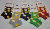 Sara Donna Meyveli Limon Desenli Bayan Patik Çorap 5 Adet