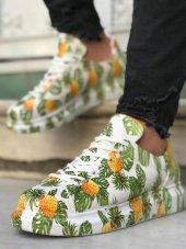Marqe 2019 Yaz Sezon Beyaz Taban Erkek Ayakkabı An...