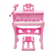Wonderful 37 Tuşlu Büyük Piyano Pembe